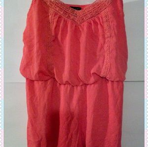 City Triangles Dresses - Romper Ladies XL City Triangles, Coral Color